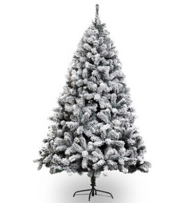 Free shipping christmas xmas tree 210cm height heavy snowed pine artificial christmas tree w - Arbol de navidad nevado artificial ...