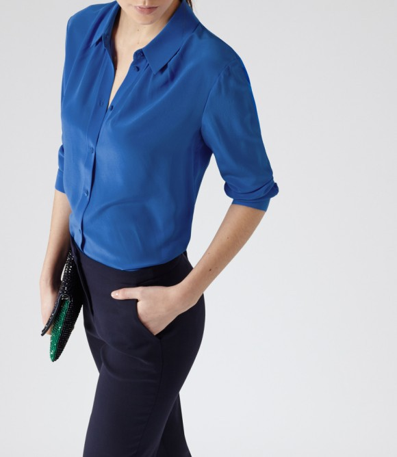 Шелковые Блузки В Uniqlo