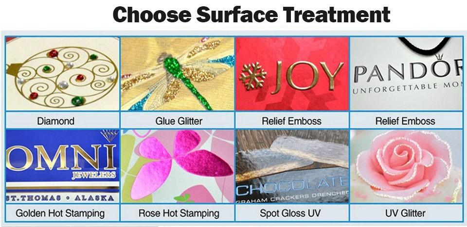 6surface treatment paper bag