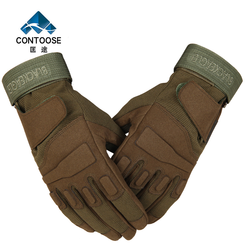 Outdoor Sports Combat Riding Gloves Joint Protection Jungle Training Fishing Mountaineering Gloves Army Fans Simulation Combat G(China (Mainland))
