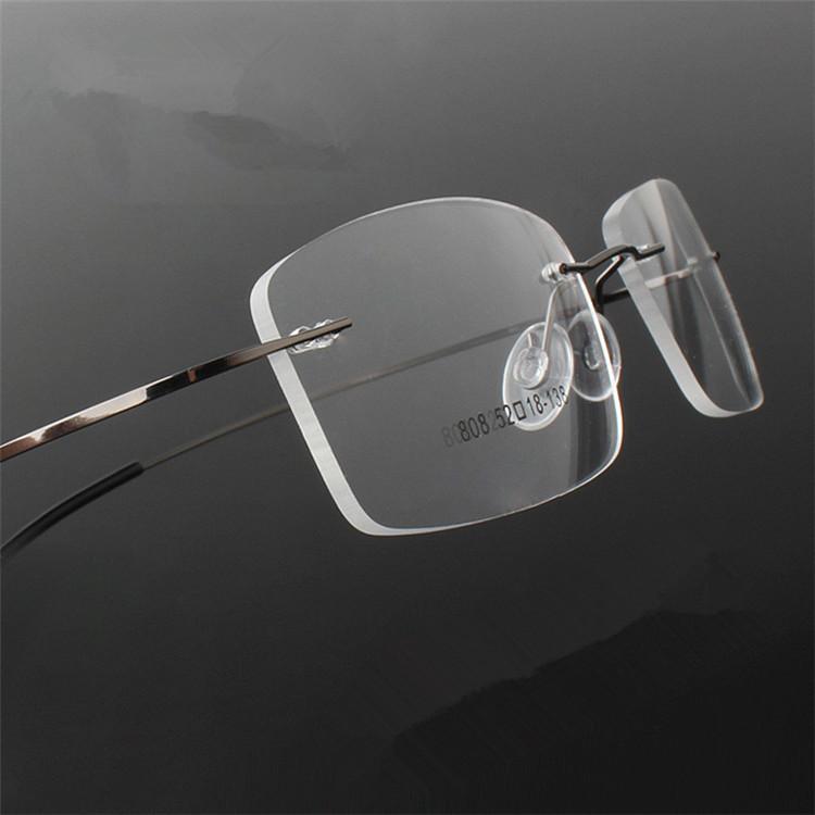 Frameless Glasses Titanium : Aliexpress.com : Buy Titanium Eyewear armacao para oculos ...