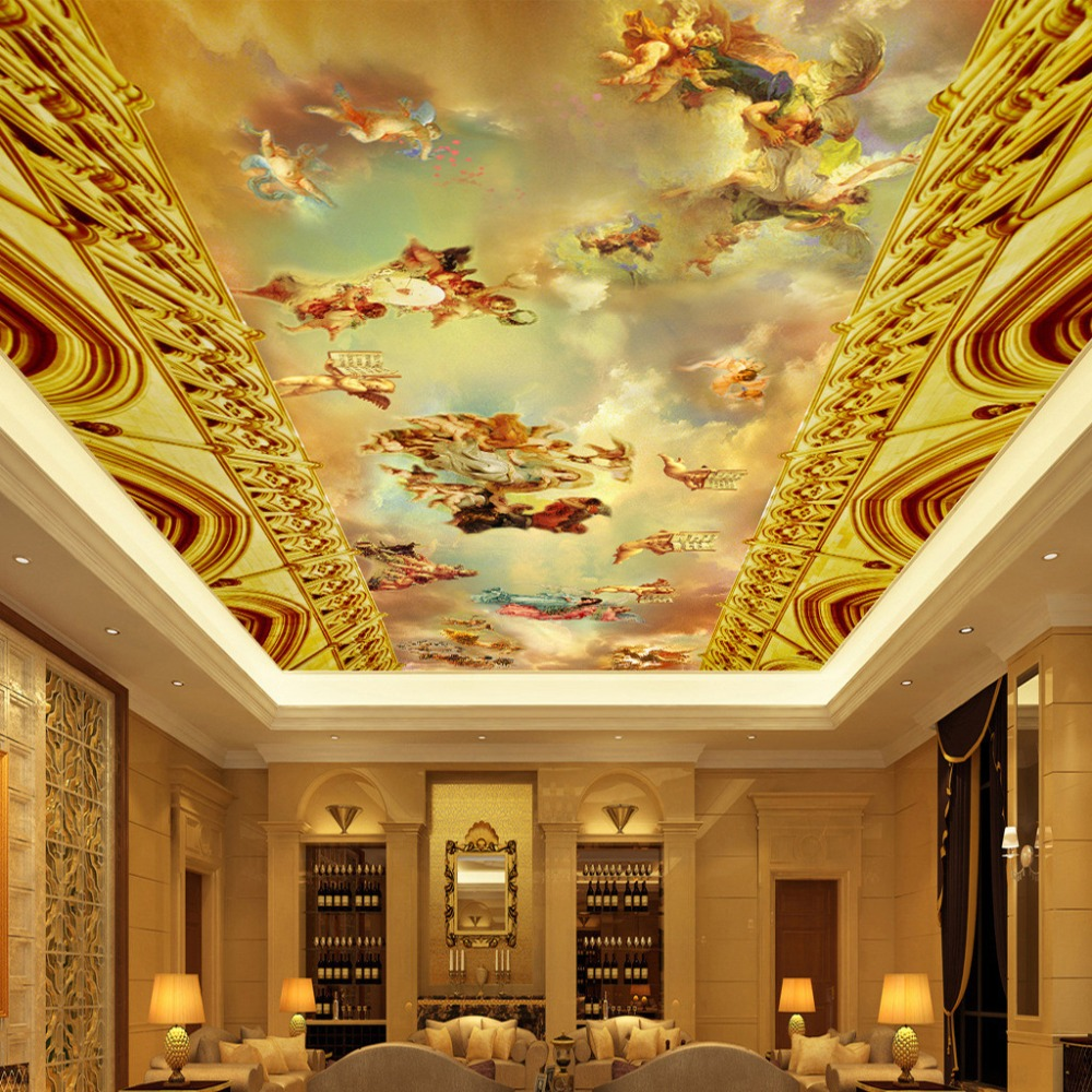 Popular fresco style painting buy cheap fresco style for Classic mural painting