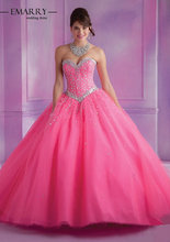 ZZ185 Charming Sleeveless Floor-Length Quinceanera Dresses 2016 Sweetheart Tulle - XGGandXRR store