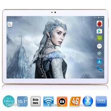 """10.1"""" Google Android 5.1 Octa Core 3G 4G LTE Tablet PC 4GB RAM 32GB ROM Bluetooth GPS 4G Phone Tablet PC IPS HD Capacitive Touch(China (Mainland))"""