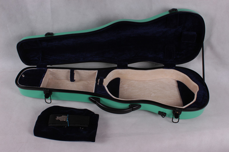 green   4/4 Violin case Glass Fiber Soft Imitate Leather Pink White Black #GF15<br><br>Aliexpress