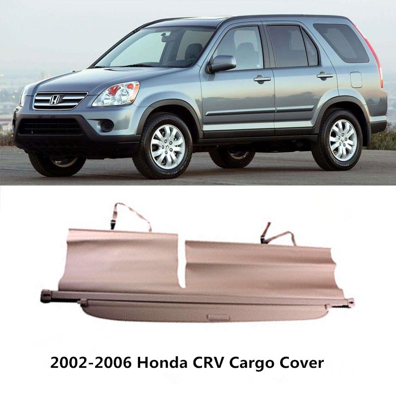 Boutique rear trunk security shield cargo cover trunk for Honda crv car cover