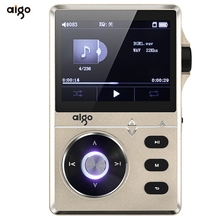 Best Selling Silver Aigo 108 Zinc Alloy HiFi High Quality Sound Lossless Music 2.2 Inches 8GB MP3 Player with Color Screen(China (Mainland))