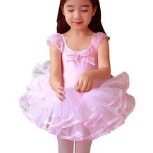 Lovely Girls Ballet Dress Baby Girls Dance Costumes Princess Tutu Dance Dress Leotard Girl Dancewear(China (Mainland))