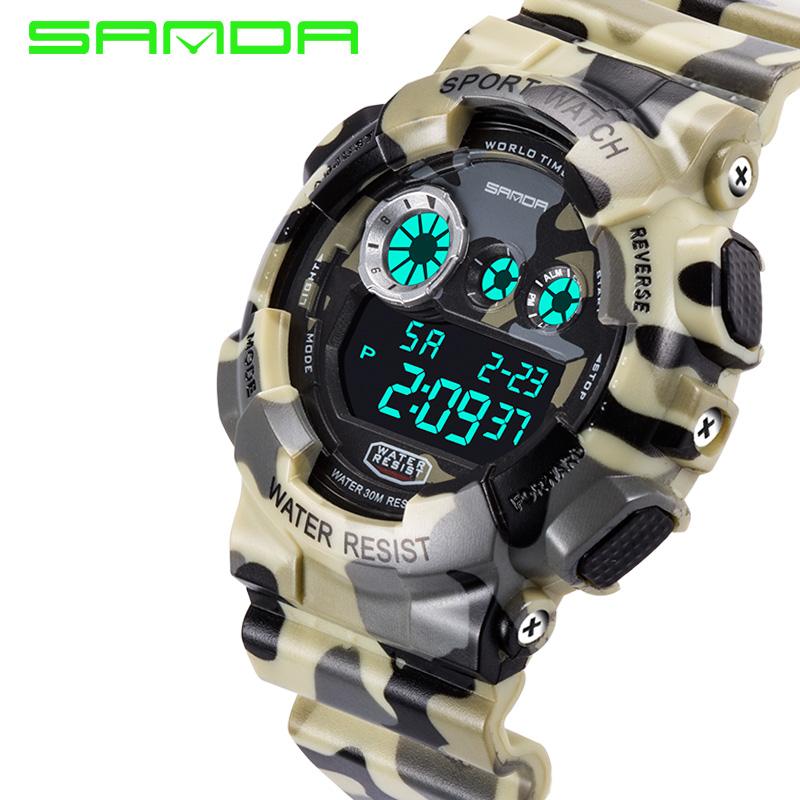 2016 Digital Camo Watch Men Sport watch 9400 Military Army Reloj Hombre LED Wristwatches relojes deportivos Free shipping(China (Mainland))