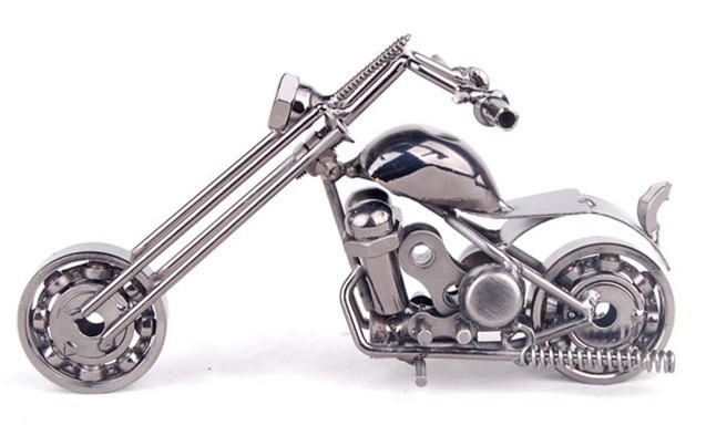 Motorbike Model Toys Diecast Metal Iron Motorcycle Model antique 1;18Toy For Collection/Gift/Kids(China (Mainland))