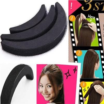 Гаджет  Hot Sponge Hair Maker Styling Twist Magic Bun Hair Base Velcro Bump Styling Insert Tool Volume LB None Одежда и аксессуары