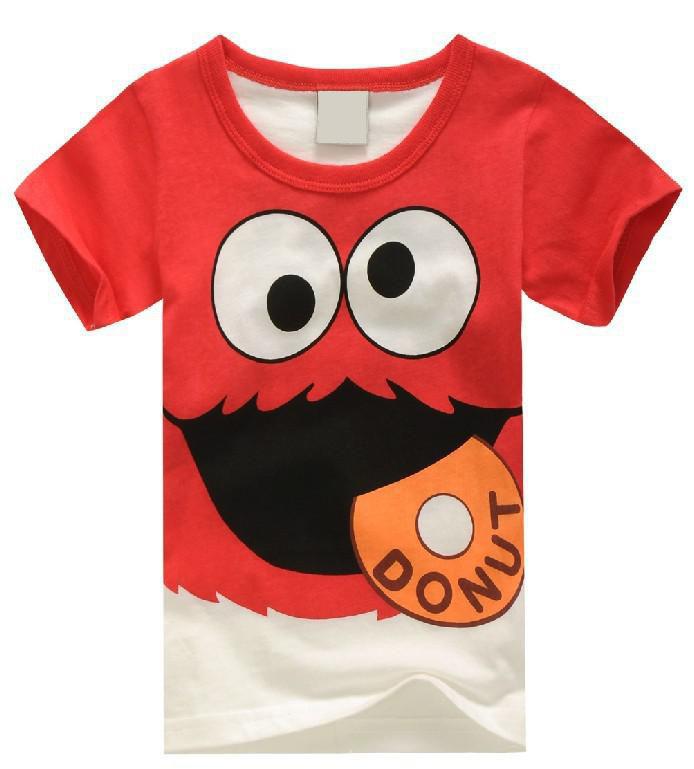 2016 New summer clothes boys girls T-shirt, children t shirt kids clothes hand,superman printed Cartoon