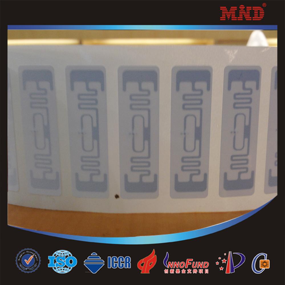 200PCS 9662 inlay UHF RFID Paper Label Sticker Tag Alien H3 inlay long range 10meters 9662 antenna inlay 72*19mm(China (Mainland))