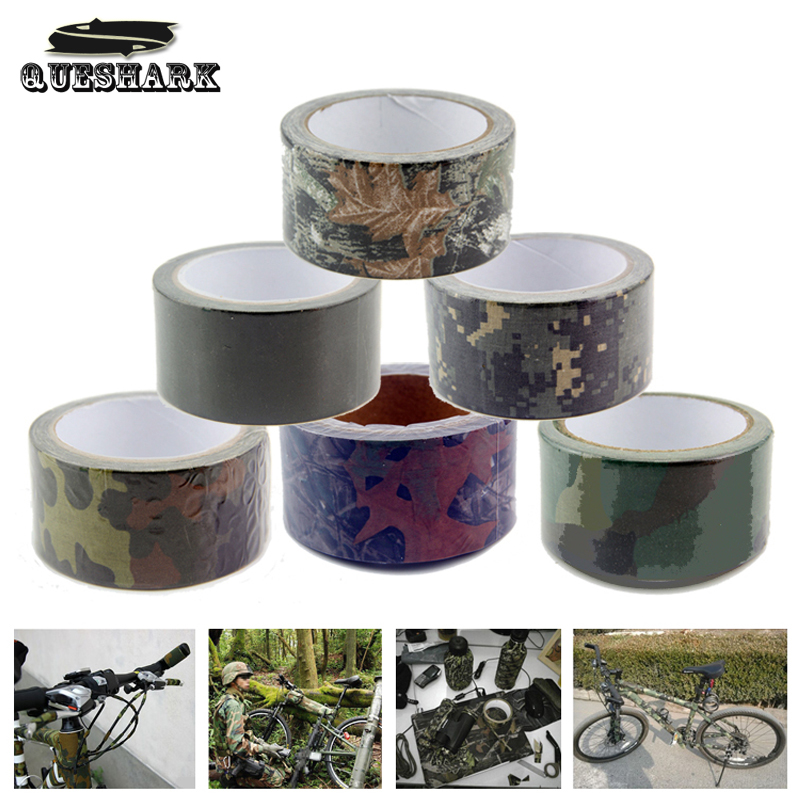 Camping Tape Camouflage Duct Tape Military Tactical Camouflage Fabric Bionic Hunting Wrap Waterproof  Insulated Cloths tape 10M<br><br>Aliexpress