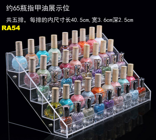 Beauty Makeup Nail Polish Storage Organizer Rack Display Stand Holder NEW RA - Chang Trading Co., Ltd. store