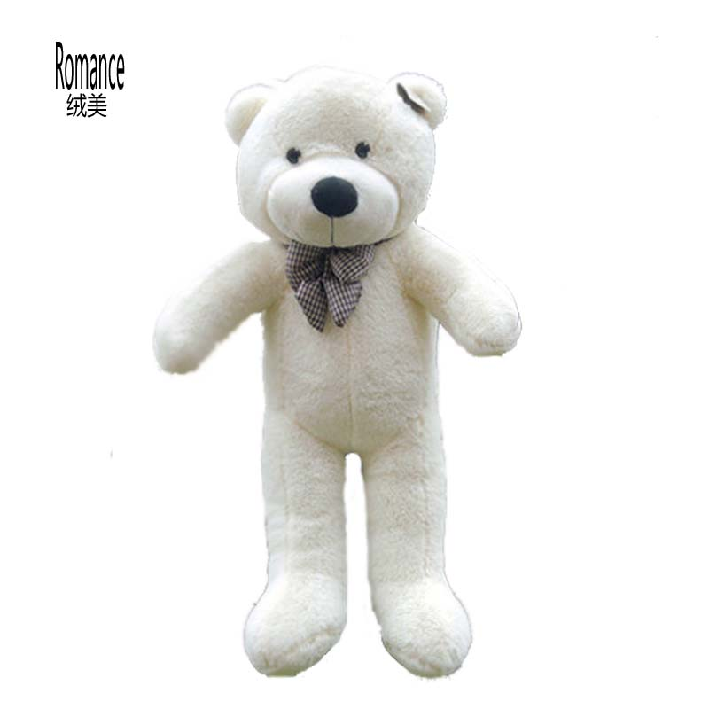 Giant Large Big White/Light Brown/Dark Brown/Pink Plush Teddy Bear 100CM Teddy Bear Plush Toy Finished stuffed Doll New(China (Mainland))