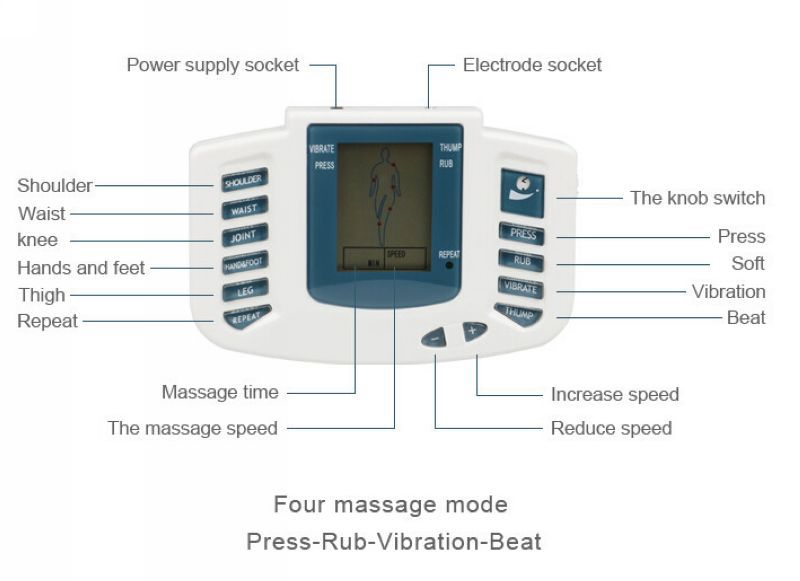 JR309 Health Care Electrical Muscle Stimulator Massageador Tens Acupuncture Therapy Machine Slimming Body Massager +18pcs pads  JR309 Health Care Electrical Muscle Stimulator Massageador Tens Acupuncture Therapy Machine Slimming Body Massager +18pcs pads  JR309 Health Care Electrical Muscle Stimulator Massageador Tens Acupuncture Therapy Machine Slimming Body Massager +18pcs pads  JR309 Health Care Electrical Muscle Stimulator Massageador Tens Acupuncture Therapy Machine Slimming Body Massager +18pcs pads