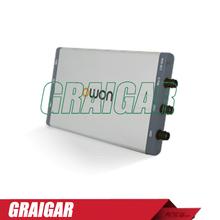 Owon VDS3102L osciloscopio para pc, 100 MHz de ancho de banda 1GS / s frecuencia de muestreo de 10 M longitud de registro 2 1 ( multi ) canal w / aislamiento