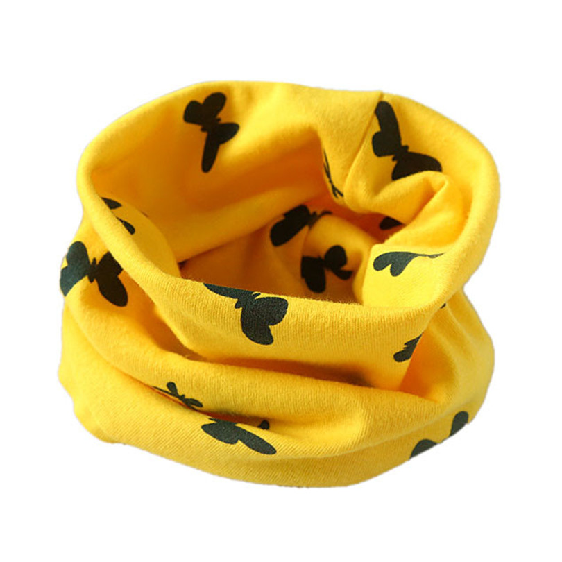 Durable 2015 new arrival Autumn Winter Boys Girls Collar Baby Scarf Baby Cotton O Ring Neck