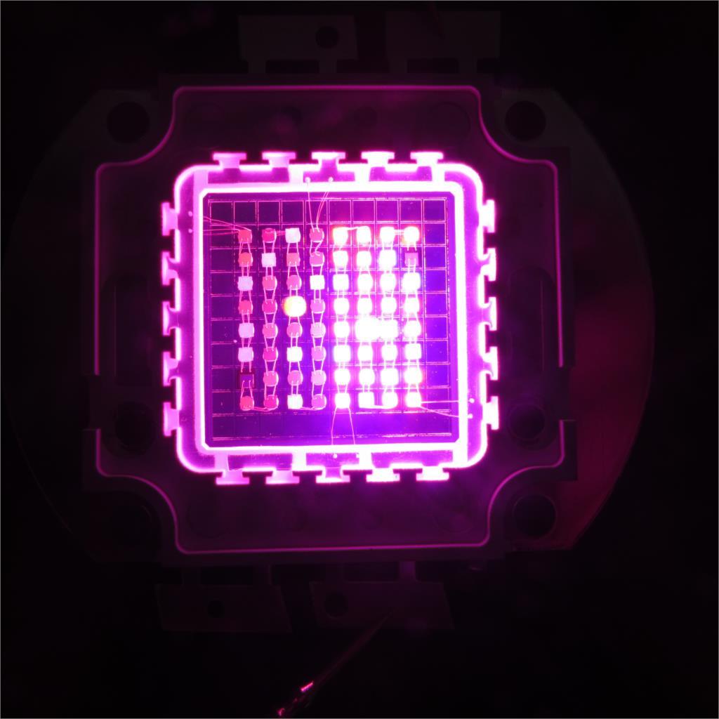 diy 64x3w led grow light 8 band multi color full spectrum cob led grow. Black Bedroom Furniture Sets. Home Design Ideas