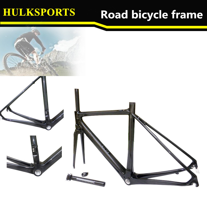 HK-CR-036 2015 new designer 100% Full carbon monocoque road bike frame super light carbon frame Include carbon cycling fork(China (Mainland))