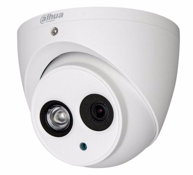 DAHUA HDCVI DOME Camera 1/2.9″ 1Megapixel CMOS 1080P IR 50M IP66 DH-HAC-HDW1100E-A security camera built in mic PAL