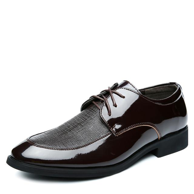 2015 Новый мужской марка дизайнер оксфорды плоские мокасины, мужская высота увеличение ...