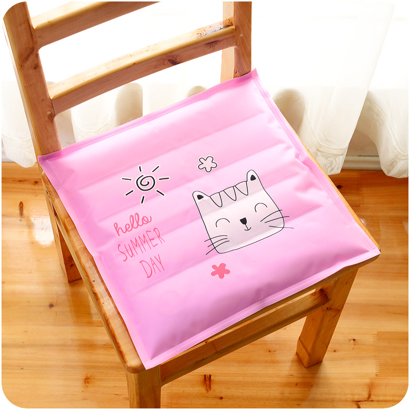 6Pcs Style Random Ice Sofa Cushion Top Multifunction Cool Mat Square Cooling Bed Fashion For Chair Seat Cartoon Ice Pad F4809(6)(China (Mainland))