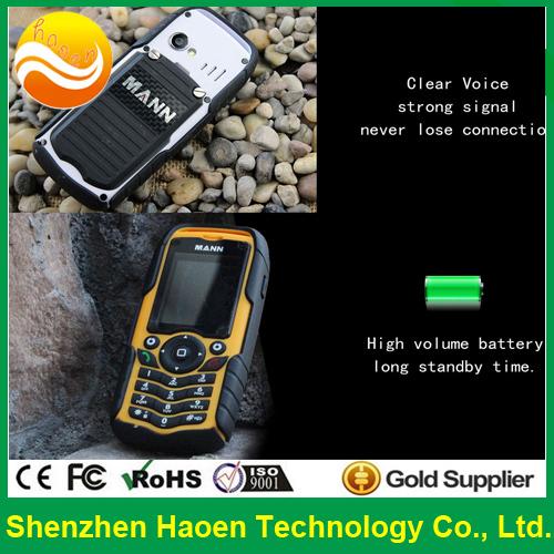 Free Shipping IP67 Waterproof Shockproof Rugged Phones 2.0 Inch Dustproof Mobile Phones MANN ZUG1(China (Mainland))