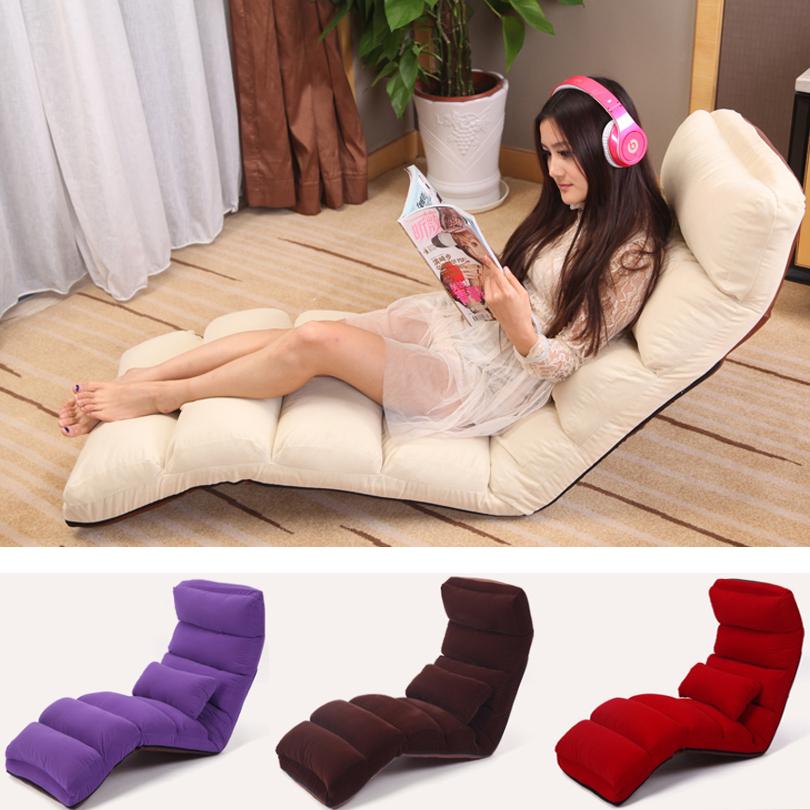 Foldable leisure sofa, lazy sofa, cloth sofa ,lot color choices,Living room furniture(China (Mainland))
