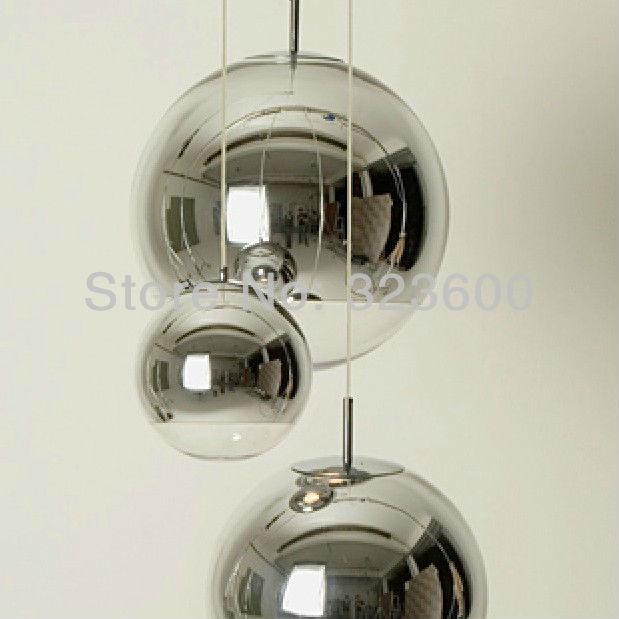 pendelleuchten chrom glas kugel blase anh nger lampe. Black Bedroom Furniture Sets. Home Design Ideas