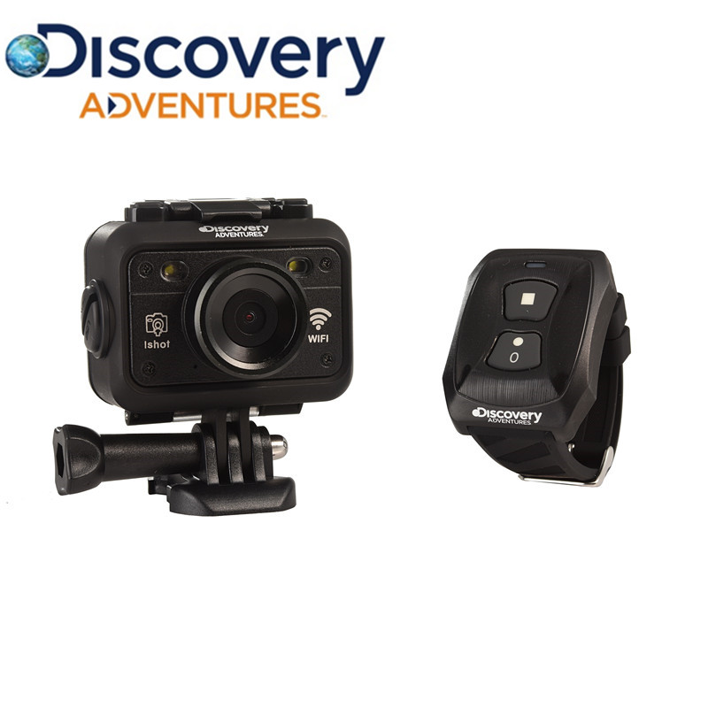 Discovery DS100 Action Camera 1080P Full HD Underwater Sport Camera WiFi Diving 60M Waterproof Camcorder with Remote Control