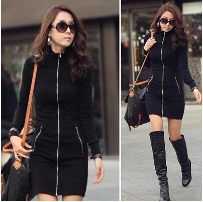 Zip up Hoodies For Women Women Hoody Dress Fashion Zip