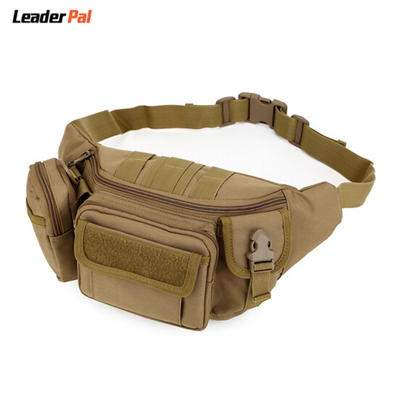 Multi-functional Waist Pack Tactics Military Single Shoulder Hip Belt Bag Fanny Packs Water Resistant Waist Bag Pouch 7 Colors(China (Mainland))