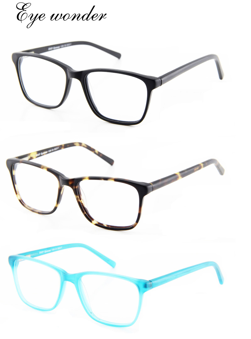 High quality Large vintage spring hinged Fashion acetate eyeglasses for men and women Eye wonder(China (Mainland))