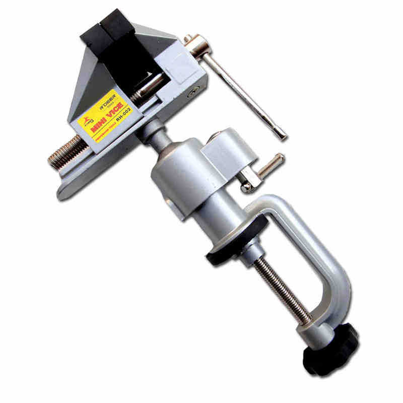 Universal Aluminum Alloy Table Vice Bench 360 Degree Screw Fixed Repair Tool Good Quality<br><br>Aliexpress