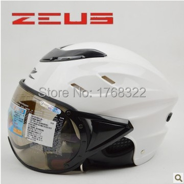 ZEUS 128 half open face motorcycle helmet Casco Capacete, Gourd scooter helmet, Free shipping, harley Jet Vintage helmet, ECE(China (Mainland))