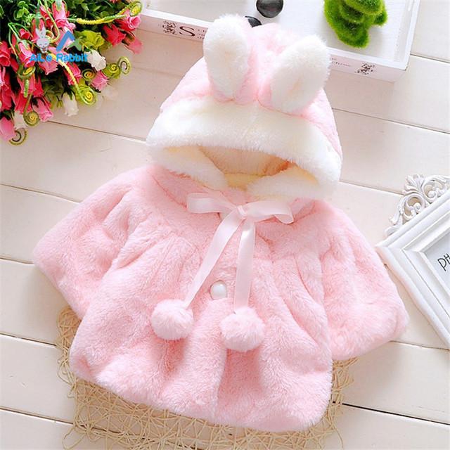 2016 девочка куртки девушки верхняя одежда пальто пальто зимние детские куртки велюр одежды прекрасный Лук пальто baby girl одежда