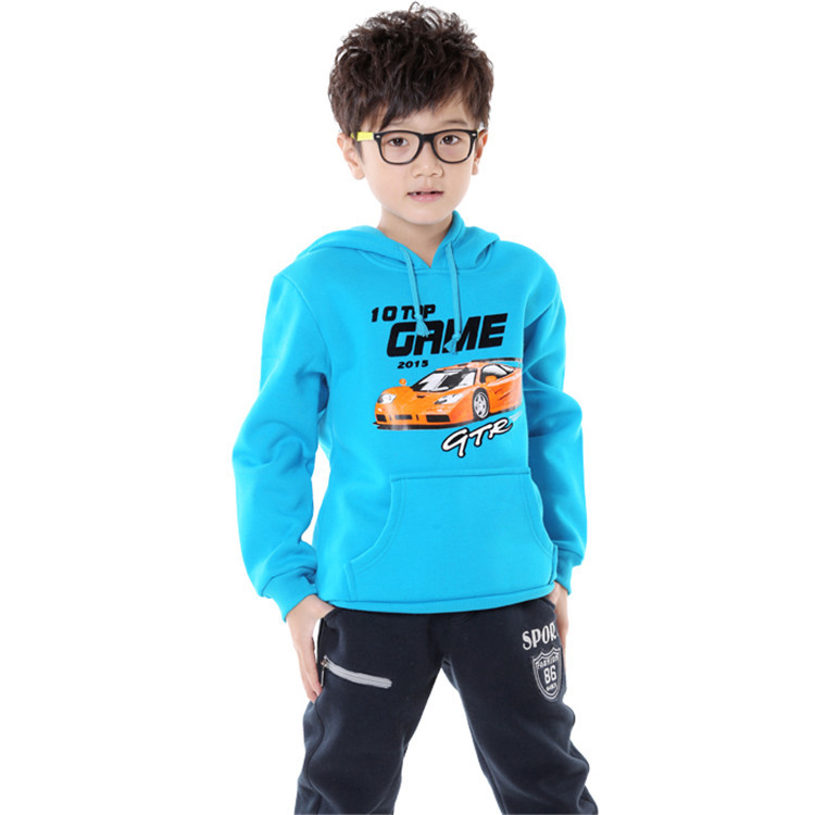 2015 spring and autumn new style baby children active clothing sets little boys and girls sweatshirts and pants WK070(China (Mainland))