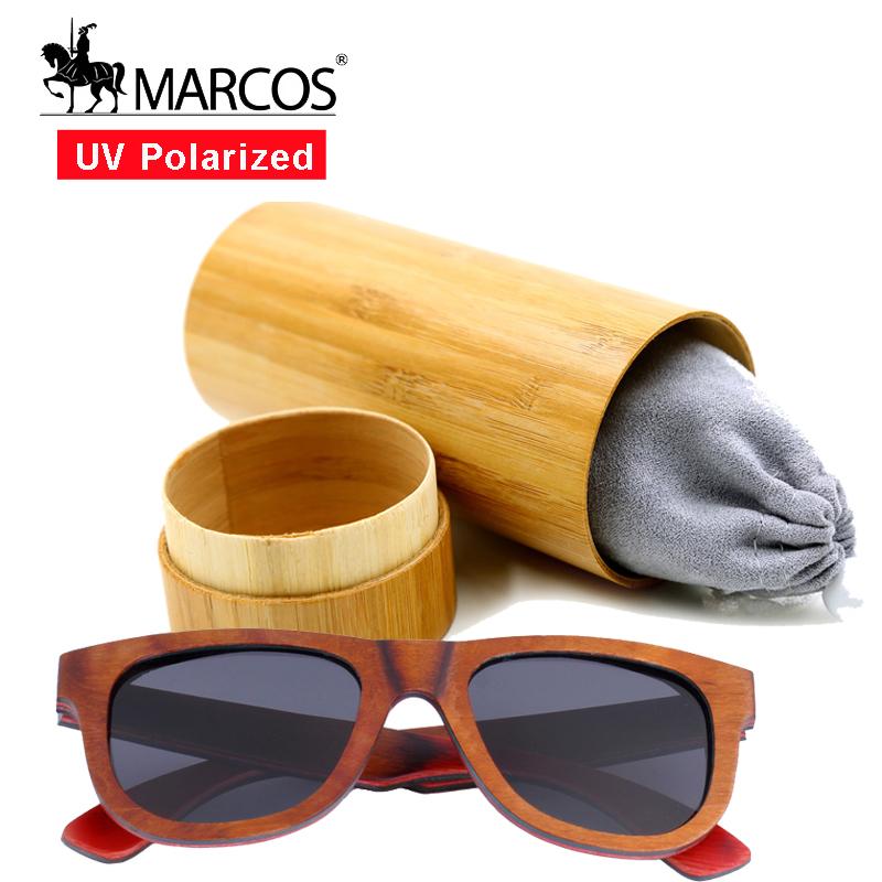 Wood Sunglasses BLACK Lens man women Skate wooden bamboo designer sunglasses with box gafas polarizadas hombre(China (Mainland))
