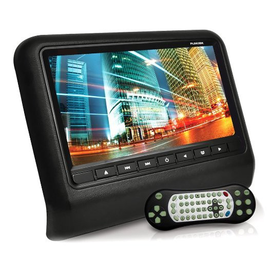 Купить Прокат голову подушку экран 9 дюймов высокой четкости ЖК-экран плагин типа головы DVD дисплей встроенная игра pad и КОМПАКТ-ДИСК игры
