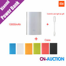 Original Xiaomi Mi Power Bank 10000mAh External Battery  New Portable Mobile Power Bank MI Charger 10000mAh for Phones,Pad,MP3(China (Mainland))