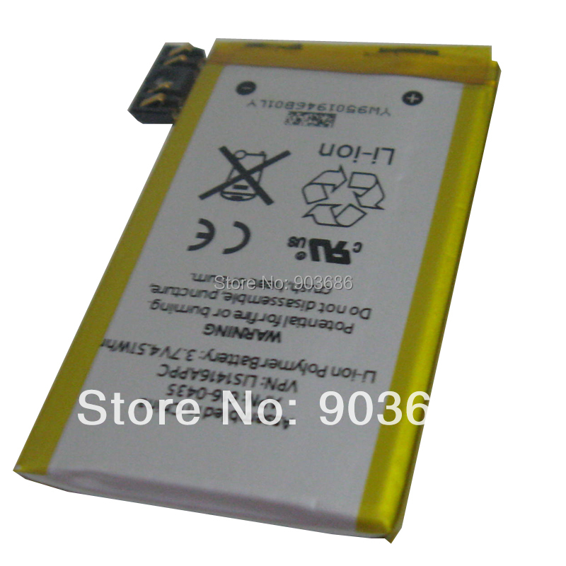 for iphone 3gs battery for iphone 3S 3GS repair parts battery build-in Li-ion battery(China (Mainland))