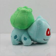 Pokemon Bulbasaur Плюшевые игрушки фигурки Игрушки Banpresto подняться 13 см Pokemon Мягкий Фаршированные Аниме Мультфильм Куклы