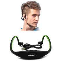 2016 New Cheap Portable Headphone Sport MP3 Player with TF Card Slot Headset Wireless Earphone Headphones Mp3 Music Player(China (Mainland))