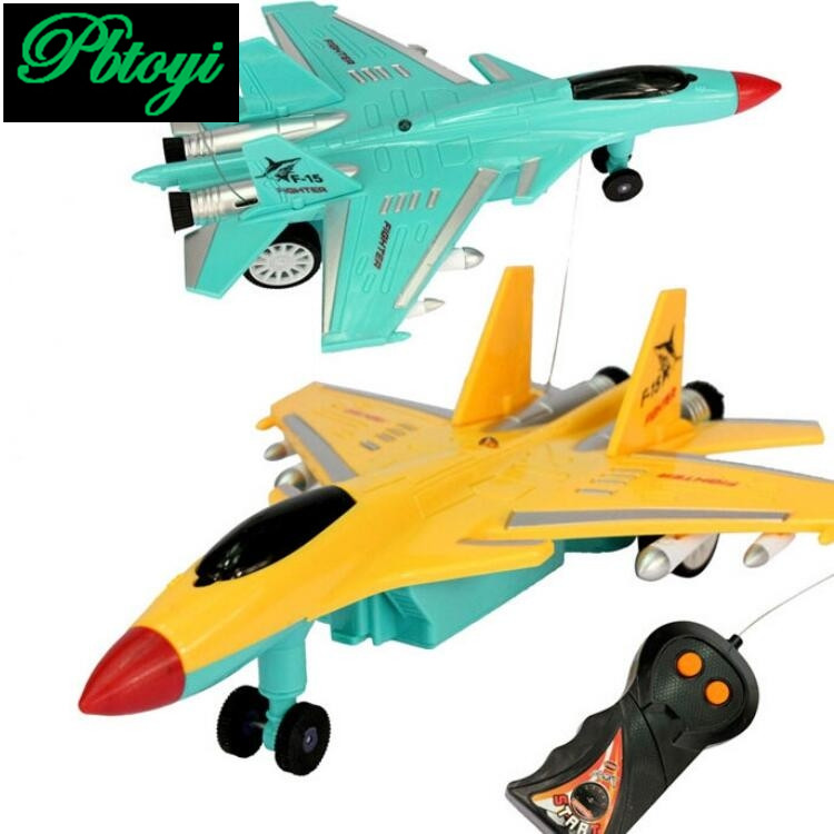 Electric Two Remote Control Plane Aviation Model Toys Children Toys PC1025(China (Mainland))