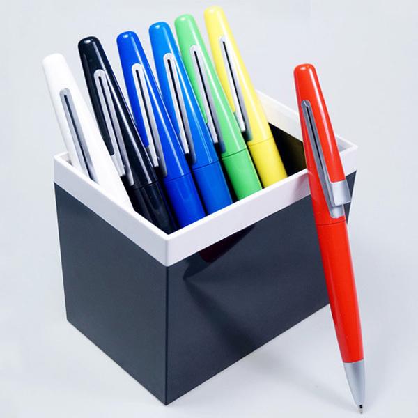 5pcs one set Creative office pen Colourful ball pen Ballpoint pen manufacturer wholesale Customize plastic advertisement pen<br><br>Aliexpress