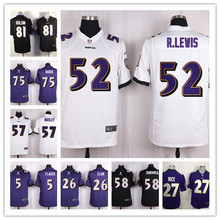 2016 GAME 100% stitcheds,top quality,100% Stitiched,Baltimore Ravens,Joe Flacco,C J Mosley(China (Mainland))