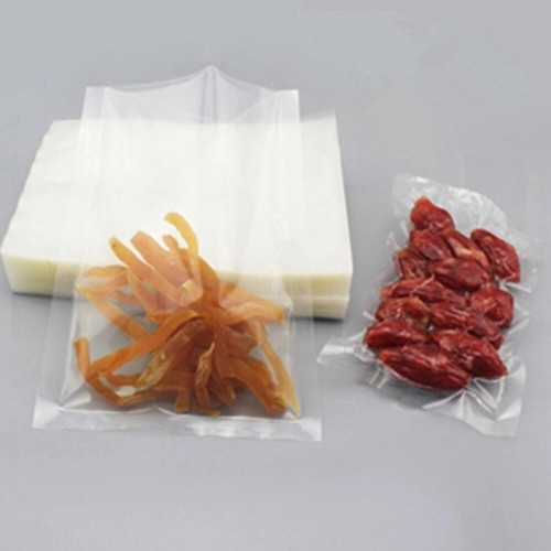 15*20cm Top Opened 50Pcs/ Lot Heat Seal Composite Clear Vacuum Food Beef, Bean Package Bags Can Stand High Temperature Cook(China (Mainland))