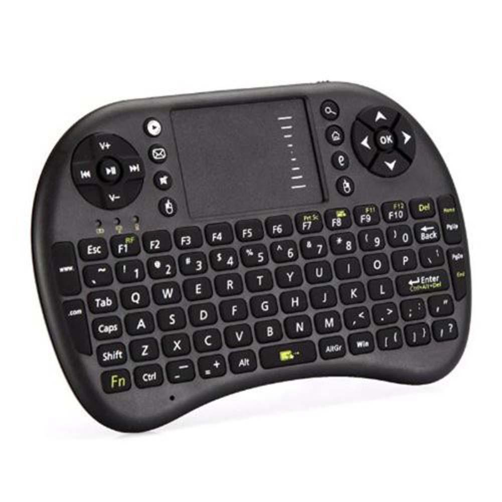 2.4G Mini Wireless Keyboard with Mouse Touchpad Handheld gaming Keyboard for PC Android Notebook TV teclado 92 keys(China (Mainland))